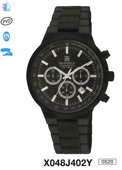 Наручные часы Q&Q X048 J402. кварцевые, мужские, водонепроницаемость WR30 (3 атм), стекло минеральное